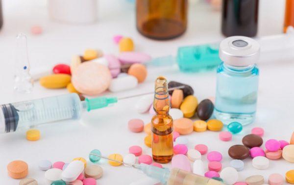Diluição e administração de medicamento