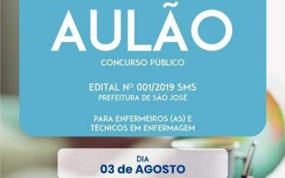 Aulão Concurso Público da Prefeitura Municipal de São José