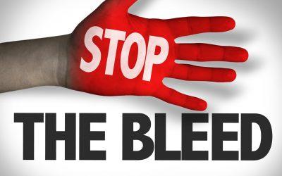 STOP THE BLEED  CONTROLE DE HEMORRAGIA
